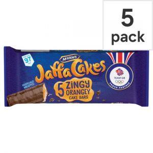 Mcvities Jaffa Cake Bars 5 Pack