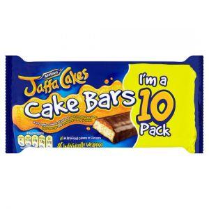 Mcvities Jaffa Cake Bars 10 Pack