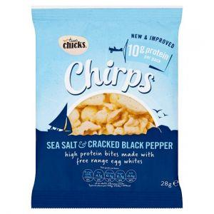 Two Chicks Chirps Sea Salt Blackpepper 28g
