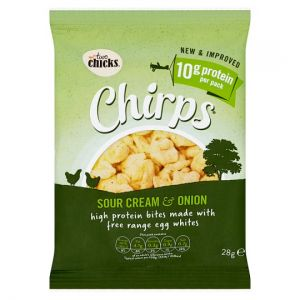 Two Chicks Chirps Sour Cream&Onion 28g