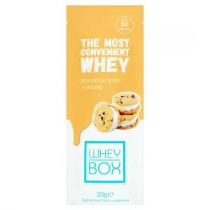 Whey Box Cookies and Cream Whey Protein 20g