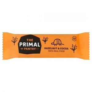 Primal Pantry Hazelnut and Cocoa Paleo Bar 45g