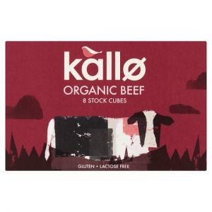 Kallo Organic Beef Stock Cubes 8Pk 88g