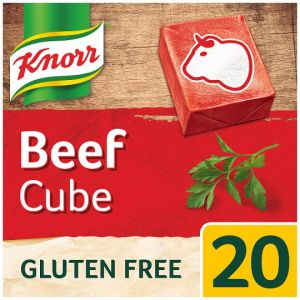 Knorr Beef Stock Cubes 20 X 10g