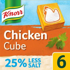 Knorr Chicken Reduced Salt Stock Cubes 6 X 9g