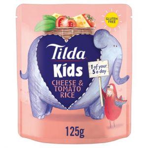 Tilda Kids Cheese & Tomato Rice 125g