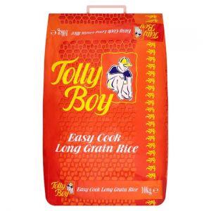Tolly Boy Easy Cook Long Grain Rice 10kg
