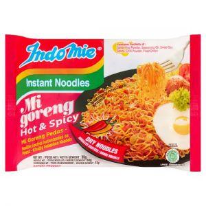 Indomie Mi Goreng Pedas Instant Noodles 80g