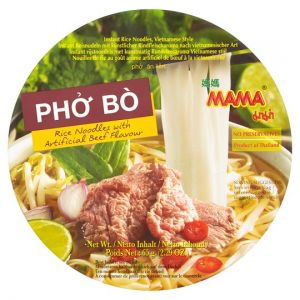 Mama Rice Noodles Beef Flavour 65g