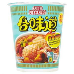 Nissin Cup Noodles Spicy Seafood Flavoured 73g