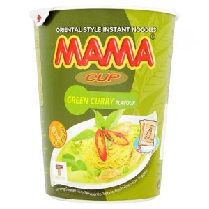 Mama Cup Noodles Green Curry 70g