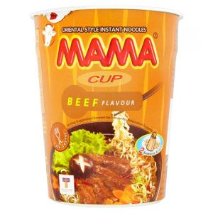 Mama Cup Noodles Beef Flavour 70g