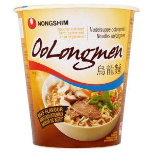 Nong-Shim Instant Oolongmen Beef Noodle Soup 75g