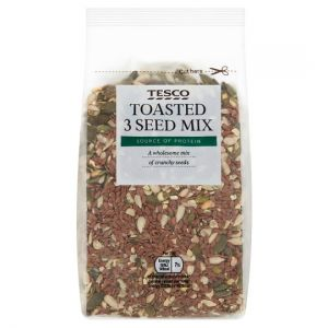 Tesco Toasted 3 Seed Mix 300g