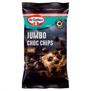 Dr Oetker Dark Jumbo Chocolate Chips 125g