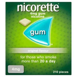 Nicorette Original Gum 4Mg 210'S