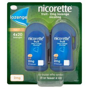 Nicorette Fruit Lozenge 2Mg 80'S