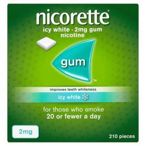 Nicorette Icy White Gum 2Mg 210'S