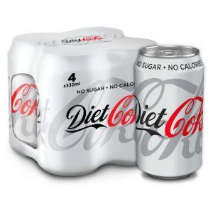 Diet Coke 4X330ml 4X330ml