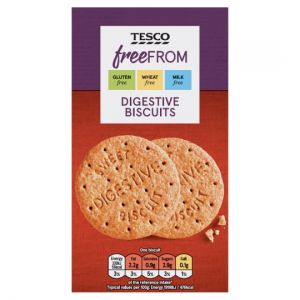 Tesco Free From Digestive Biscuits 160g