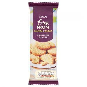 Tesco Free From Shortbread 200g