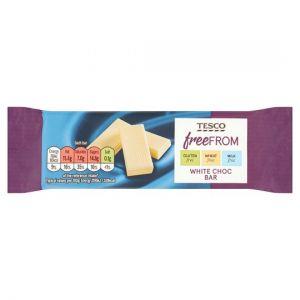 Tesco Free From White Chocolate Bar 35g