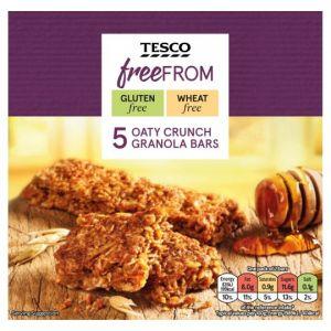 Tesco Free From 5 Oaty Crunch Granola Bar 210g