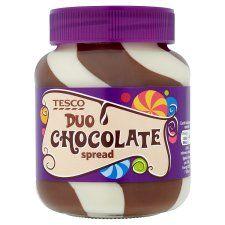 Tesco Duo Chocolate Spread 400g