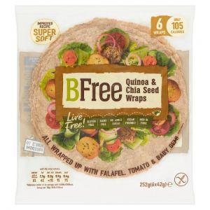 Bfree Quinoa Chia and Gluten Free Wrap 6 X 42g