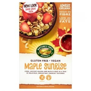 Natures Path Organic Maple Sunrise Gluten Free Cereal 332g