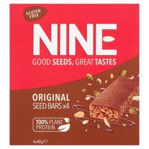 Nine Original Seeds Bars 4X40g