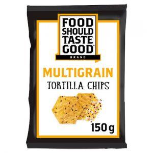 Food Should Taste Good Tortilla Chips Wholegrain 150g
