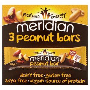 Meridian Peanut Bar 3 Pack 120g