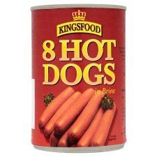 Lancaster 8 Hot Dogs In Brine 400g