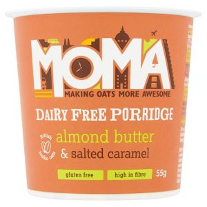 Moma Porridge Almond Butter & Salted Caramel 55g