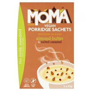 Moma Porridge Almond Butter & Salted Caramel 5X55g