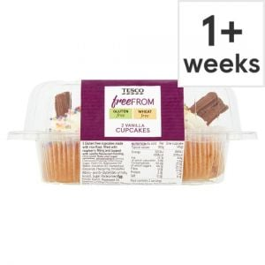 Tesco Free From Vanilla Cupcakes 2 Pack