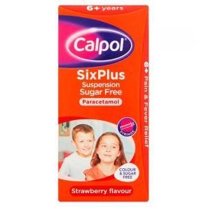 Calpol 6+ Sugar Free 80ml