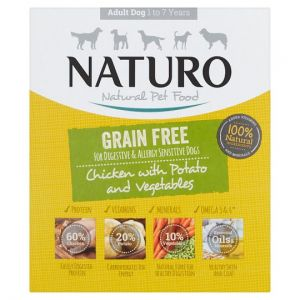 Naturo Grain Free Chicken Potato Dog Food 400g