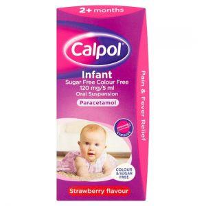 Calpol Infant Colour Free & Sugar Free 100ml