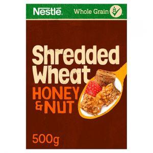 Nestle Shredded Wheat Honey Nut Cereal 500g