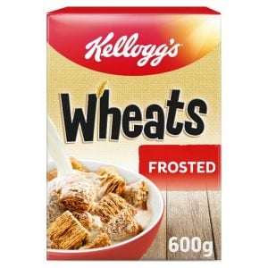Kellogg's Frosted Wheats Cereal 600g
