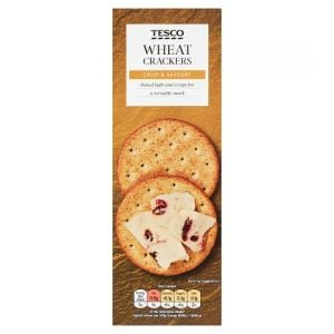 Tesco Wheat Cracker 170g