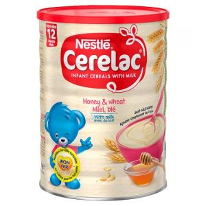 Nestle Cerelac Honey & Wheat Baby Food 1kg