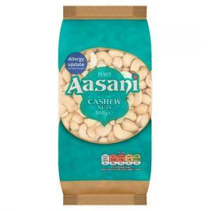 Tesco Aasani Cashew Nuts 500g
