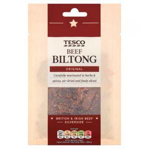 Tesco Biltong Original Snacks 40 G