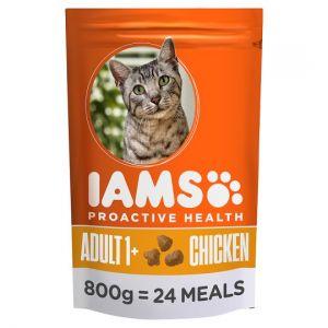 Iams Chicken Dry Cat Food 800g