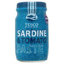 Tesco Sardine & Tomato Paste 75g