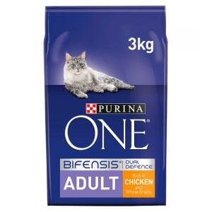 Purina One Cat Adult Chicken & Whole Grains 3kg