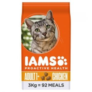 Iams Chicken Dry Cat Food 3kg